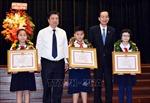TP Hồ Chí Minh tuyên dương 618 học sinh giỏi tiêu biểu
