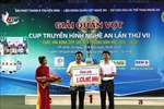 Giải quần vợt Cúp NTV: Quyên góp gần 1,5 tỉ đồng hỗ trợ học sinh nghèo