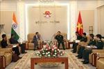 Bộ trưởng Bộ Quốc phòng Ngô Xuân Lịch tiếp Đại sứ Cộng hòa Ấn Độ