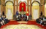 Phó Chủ tịch nước Đặng Thị Ngọc Thịnh hội kiến Thủ tướng Australia Scott Morrison