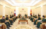 Hợp tác xây dựng tiềm lực hậu cần giữa Quân đội Việt Nam và Lào