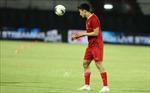 Đội tuyển Việt Nam tập luyện, làm quen sân thi đấu