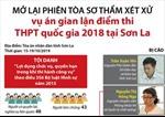 Vụ gian lận điểm thi tại Sơn La: Mở lại phiên tòa sơ thẩm xét xử 8 bị cáo