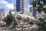 Sập tòa nhà 7 tầng tại Brazil