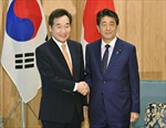 Lãnh đạo Nhật Bản, Hàn Quốc hội đàm trong bối cảnh quan hệ căng thẳng