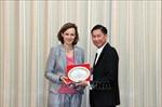 Lãnh đạo TP Hồ Chí Minh tiếp đoàn đại biểu Phòng Kinh tế Liên bang Áo