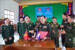 Bộ Chỉ huy Quân sự tỉnh Đắk Nông và Tiểu khu Quân sự tỉnh Mundulkiri đánh giá kết quả hợp tác
