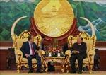 Lào luôn coi trọng và dành ưu tiên cao nhất củng cố, tăng cường quan hệ với Việt Nam