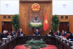 Thủ tướng Nguyễn Xuân Phúc tiếp đoàn Hội đồng Kinh doanh Hoa Kỳ - ASEAN