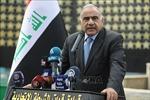 Thủ tướng Iraq chỉ trích lệnh trừng phạt của Mỹ