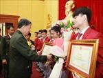 Khen thưởng VĐV, HLV Công an nhân dân đạt thành tích cao tại SEA Games 30