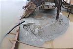 Phát hiện nhiều tàu khai thác cát trái phép trên sông Hồng