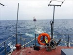 Chi đội Kiểm ngư số 4 cứu nạn thành công tàu cá Bình Định bị nạn trên biển