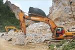 Nổ mìn phá đá ở mỏ đá Hưng Phúc gây nguy hiểm cho người dân