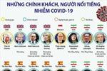 52 chính khách, người nổi tiếng nhiễm COVID-19