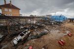 Hỏa hoạn tại công trường xây dựng bệnh viện cho bệnh nhân COVID-19 tại Nga