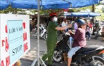 Hậu Giang tăng cường phòng, chống dịch COVID-19 tại các chợ truyền thống