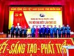 Đại hội Đảng bộ điểm thị xã Phước Long bầu trực tiếp Bí thư