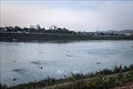 Phớt lờ biển cấm nguy hiểm, người dân thành phố Hòa Bình 'vô tư'tắm trên sông Đà