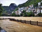 Trung Quốc ban bố cảnh báo Xanh về tình hình mưa lũ
