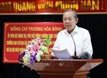 Phó Thủ tướngTrương Hòa Bình làm việcvới thành phố Hải Phòng và Bộ Tư lệnh Bộ đội Biên phòng