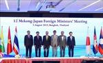 Nhật Bản và Việt Nam sẽ đồng chủ trì Hội nghị Bộ trưởng Mekong-Nhật Bản lần thứ 13