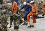 Nhật Bản cảnh báo khẩn cấp cao nhất về tình hình mưa lũ