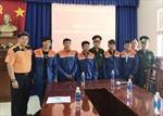 Biên phòng tỉnh Bà Rịa – Vũng Tàu tiếp nhận 6 thuyền viên bị nạn trên biển