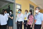Thứ trưởng Bộ GD&ĐT kiểm tra công tác tổ chức thi tại Hưng Yên