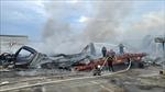 Cháy lớn tại Công ty JAANH Vina ở Bắc Ninh