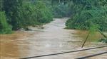 Bình Phước: Nước lũ lên cao, di chuyển 53 hộ dân ở TP Đồng Xoài đến nơi an toàn