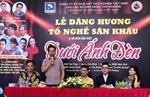 Trình diễn lại vở 'Dưới ánh đèn'chào mừng Ngày Sân khấu Việt Nam