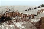 Đê biển Kiên Giang tiếp tục bị sạt lở nghiêm trọng