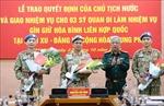 Thêm ba sĩ quan Việt Nam lên đường làm nhiệm vụ gìn giữ hòa bình LHQ