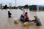 Lũ lụt diện rộng tại Campuchia khiến 40 người thiệt mạng