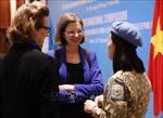 Đề xuất sáng kiến thúc đẩy vai trò của phụ nữ trong gìn giữ hòa bình