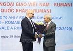 Giao lưu hữu nghị kỷ niệm 70 năm thiết lập Quan hệ ngoại giao Việt Nam - Romania