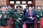Chủ tịch Quốc hội Nguyễn Thị Kim Ngân làm việc tại Quân khu 4