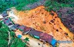 Sạt lở núi đe dọa tính mạng người dân khu tái định cư Anh Nhoi 2