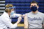Một số bang của Mỹ nguy cơ trở thành 'điểm nóng' do tỷ lệ tiêm vaccine thấp