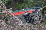 Xe khách lao xuống vực khiến một người tử vong