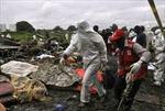 Rơi máy bay ở Nam Sudan làm 10 người thiệt mạng