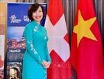Đại sứ quán Việt Nam tại Thụy Sĩ thăm, làm việc với Cơ quan dự báo Khoa học và Ngoại giao Geneva
