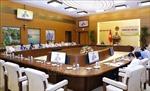 Phiên họp Tiểu ban Văn bản pháp luật và Thông tin, tuyên truyền