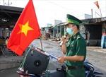 'Tiếng loa Biên phòng'phát huy hiệu quả trong tuyên truyền về bầu cử