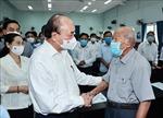 Chủ tịch nước tiếp xúc cử tri tại huyện Củ Chi và Hóc Môn, TP Hồ Chí Minh
