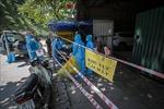 Cận cảnh các điểm phong tỏa phòng, chống COVID-19 ở thành phố Hòa Bình