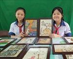 Độc đáo Dự án 'Tranh gạo và hướng phát triển'của hai nữ sinh Cần Thơ
