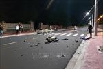 Hai xe máy va chạm trong đêm khiến 2 người tử vong, 1 người bị chấn thương sọ não