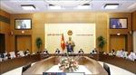 Chủ tịch Quốc hội chủ trì cuộc họp rút kinh nghiệm về công tác phục vụ kỳ họp